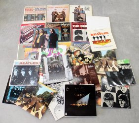 40+ Vintage Beatles Vinyl Lp Record Albums