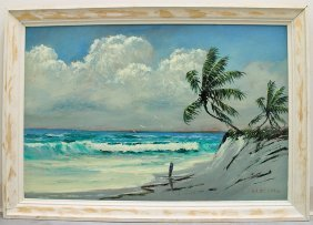 Roy Mclendon Rio Mar Highwaymen Painting