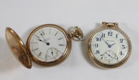 Waltham & Hamilton Pocket Watches