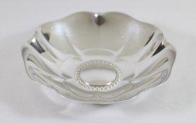 Tiffany & Co Sterling Silver Flower Dish