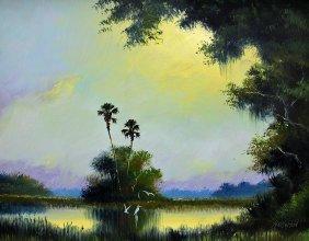 Harold Newton Highwaymen Painting