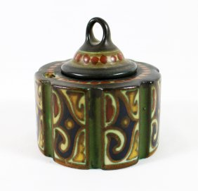 Gouda Pottery Inkwell