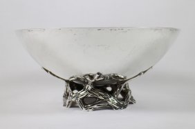 Tiffany & Co Makers Sterling Vine Bowl