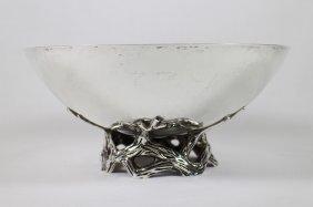 Tiffany & Co Makers Sterling Vine Bowl