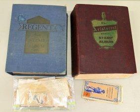 Vintage Stamp Books