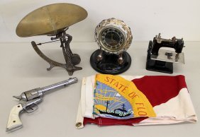 Vintage Toys, Clock, & More