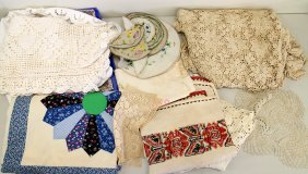 Vintage Linens, Lace, & Embroidery