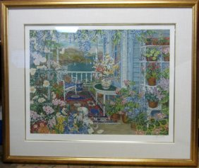 John Powell Serigraph, Signed & Numbered