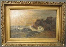 Oceanscape, Signed: B. Hardgrove