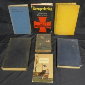 Vintage Books On Sailors And Ships