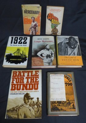 Assorted Books On Africa