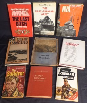 Collection Of Books On The German Military