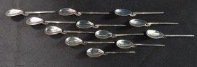 Sterling Silver Tea Spoons