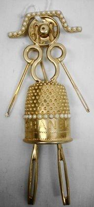 Chanel Designer Costume Pin, Unusual