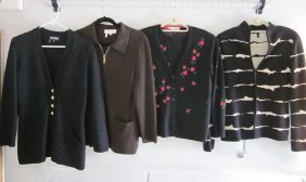 Lot Of Vintage Escada Sweaters/Jackets