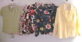 Lot Of Designer Spring Clothes; Bernard Zins Etc.