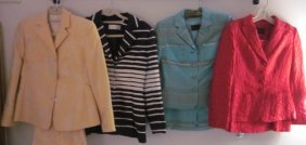 3 Designer Suits & Jacket