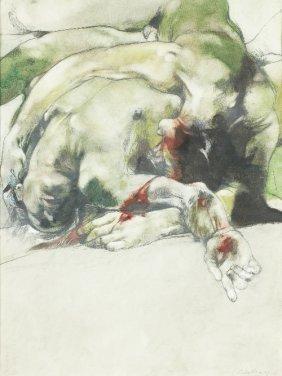 Luis CABALLERO (1943-1995) , Bodies, 75