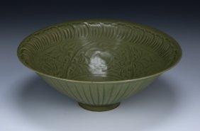A Chinese Antique Yaozhou-style Celadon Glazed