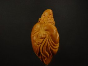 A Well Carved Olivary Nucleus Bodhidharma