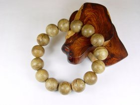 An Argarwood Beads Bracelet