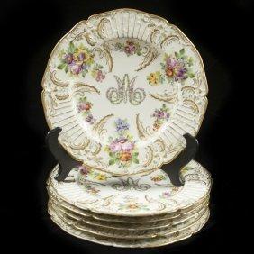 Rue Thiroux Marie Antoinette Porcelain Plates