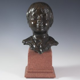 Bronze By Ottilio Pesci(france/italy 1877 - 1959)