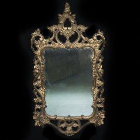 Gilded Wood Mirror