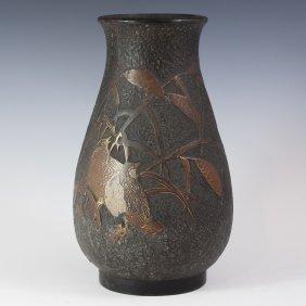 Antique Japanese Ceramic Vase