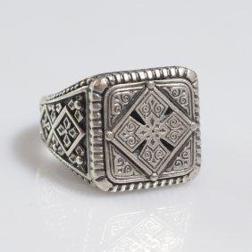 Konstantino Sterling Ring