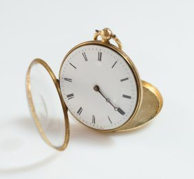Vacheron Constantin Gold Pocket Watch