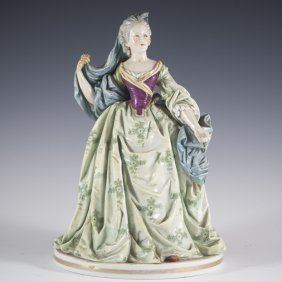 Ludwigsburg Porcelain Figurine