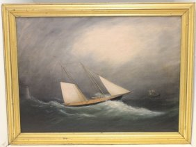 Attributed To Clement Drew (1806-1889, Mass.),