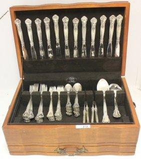 Sterling Silver Flatware Set, Chantilly Pattern