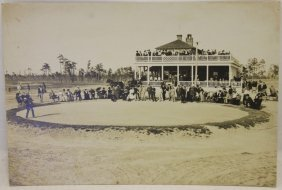 Early Photograph Of Pinehurst Golf Course,
