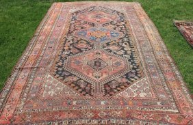 Caucasian Rug, Early 20th C With Birds, Animals