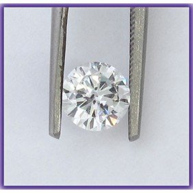 EGL Certified Diamond  Round 0.7ctw  H,VVS2