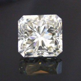 EGL 1.01 Ctw Certified Radiant Diamond E,SI2