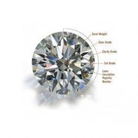 GIA 1.01 Ctw Certified Round Brilliant Diamond E,SI1