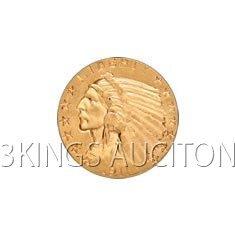 $5 Indian Extra Fine Early Gold Bullion