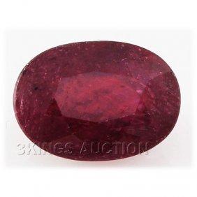 6.79ctw African Ruby Loose Gemstone