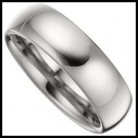 High Polished Domed Tungsten 6mm