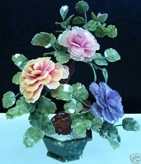 REAL JADE MIXED BONSAI FLOWER