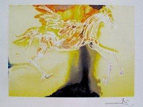 Salvador Dali Dalinean Horse PEGASUS Limited Ed. Li