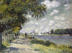 "CLAUDE MONET  ""THE SEINE AT ARGENTEUIL"""