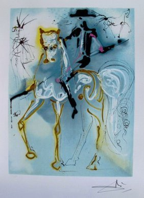 Salvador Dali Dalinean Horse PICADOR Limited Ed. L