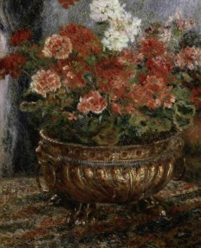 "PIERRE AUGUSTE RENOIR  ""BOUQUET OF FLOWERS"""