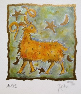 KELLY JANE ARIES HAND SIGNED LIMITED ED.