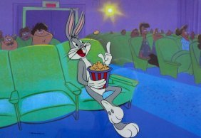 WARNER BROS BUGS BUNNY AT THE MOVIES SERICEL