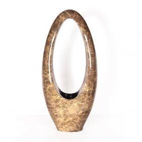 Fossilized Oval Vase